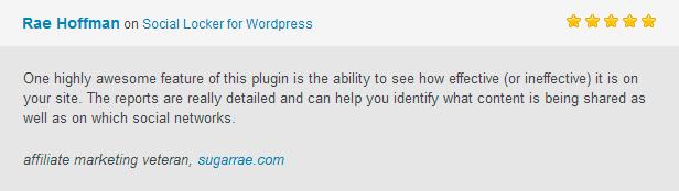 雷伊霍夫曼社会储物柜WordPress的一个高度真棒功能,这个插件的能力,看到的报道效果如何你的网站是真正详细,可以帮助你确定哪些内容被共享以及该社交网络联盟营销的老将,sugarrae。 玉米