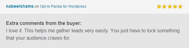 Opt-In Panda for Wordpress - 2